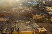 Serangan Militer Israel Hancurkan Terowongan Hamas di Jalur Gaza