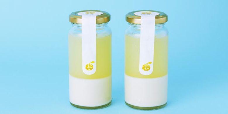 Produk Kitoyuzu Jelly & White Choco ini dijual di KAORU KITO YUZU, toko kebutuhan sehari-hari dan dessert yang menggunakan bahan Kitoyuzu (sejenis jeruk yang terkenal dengan keharuman aromanya di Jepang).