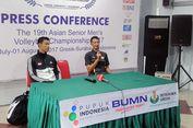 Pelatih Tim Voli Indonesia Akui Anak Didiknya Kalah Kelas dari Korsel