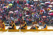 Festival Pacu Jalur Ini Cuma Ada di Kuantan Singingi Riau