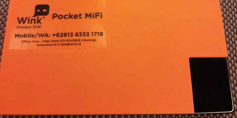 Wink bisa digunakan lebih dari 100 negara. Satu modem bisa dipakai untuk 5 orang, batere tahan lama. Perjalanan ke luar kota di luar negeri pun jadi menyenangkan.(KOMPAS.com/I MADE ASDHIANA)