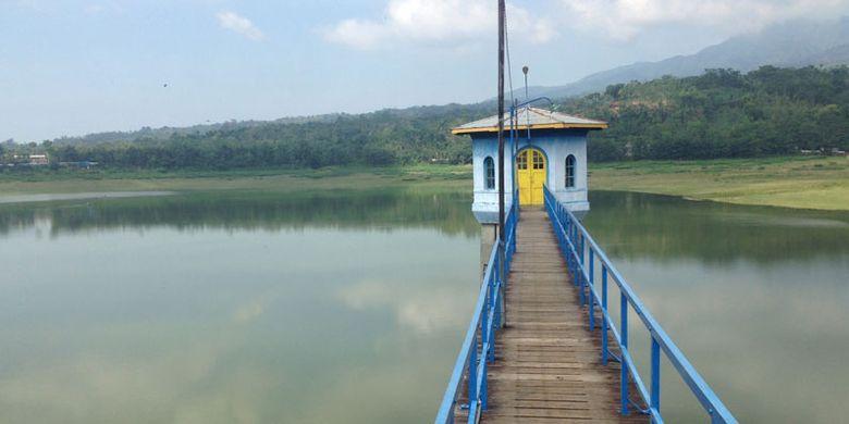 Bendungan Gunung Rowo di Pati, Jawa Tengah.
