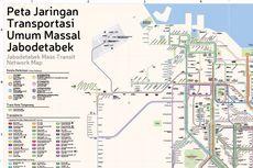 FDTJ Rilis Peta Baru Jaringan Transportasi Publik Jadebotabek