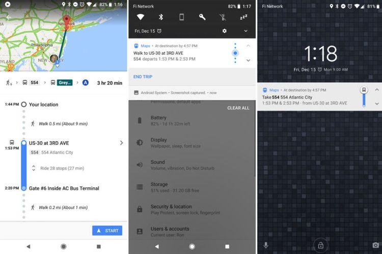 Fitur Baru Google Maps Penanda Pemberhentian bus dan kereta