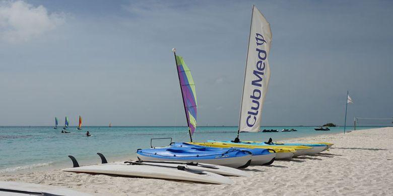Club Med Kani di Maladewa atau Maldives, Minggu (16/7/2017).