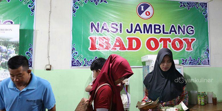 Nasi Jamblang Ibad Otoy Cirebon.