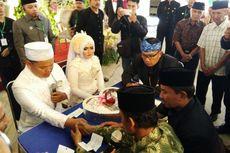 40 Pasang Warga Miskin Menikah di Rumah Dinas Wali Kota Bandung