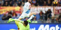Napoli Permalukan Roma di Olimpico berkat Dua Gol Mertens
