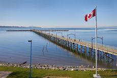 Jalan-jalan di Pantai, Pria di Kanada Temukan Potongan Kaki Manusia
