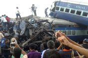 Kereta Cepat Tergelincir di India Utara, 23 Orang Tewas