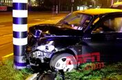 Aguero Lewatkan 'Bigmatch' karena Kecelakaan Mobil