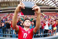 Cetak Gol Indah, Saddil Dapat Pujian dari Manajemen Persela