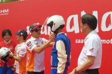 Marquez Ingatkan Biker untuk Pakai Helm