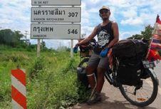 Pesepeda Indonesia Kecelakaan dan Meninggal di India
