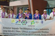 Indonesia Raih 2 Medali di Olimpiade Fisika APhO Tersulit dalam Sejarah