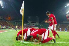 Babak 1, Indonesia Unggul 2-0 atas Filipina