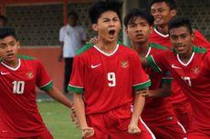 Kualifikasi Piala Asia U-16, Indonesia Pesta 18 Gol ke Gawang Mariana Utara