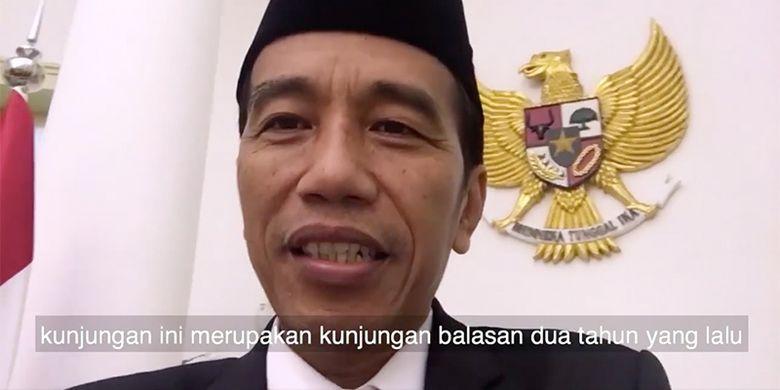 """Presiden Jokowi """"Nge-vlog"""" Bareng Raja Salman"""
