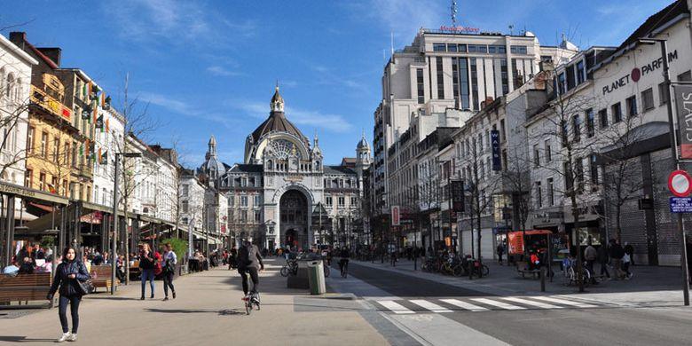 1240910388 » Perjalanan Dari Brussel Ke Den Haag, Mampirlah Di Antwerp