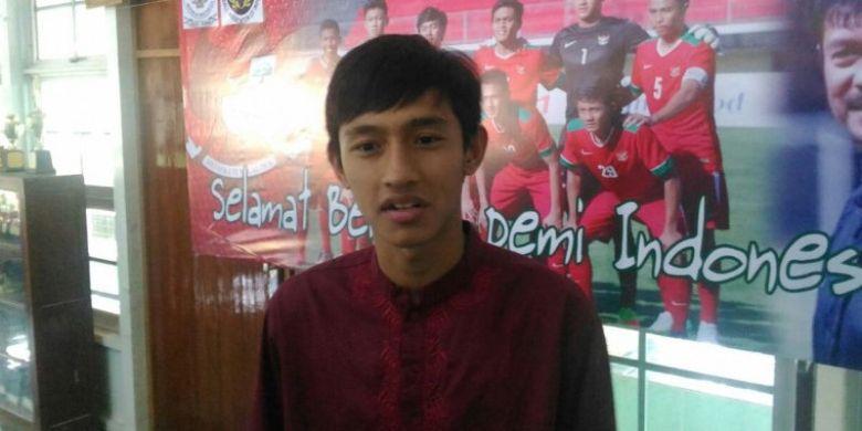 Striker andalan timnas U-19 Indonesia, Hanis Saghara.