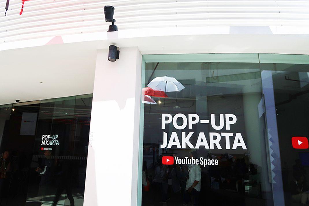 YouTube Pop-Up Space Jakarta digelar untuk ketiga kalinya.