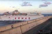 Hilang Kendali, Kapal Feri Tabrak Dermaga Pelabuhan