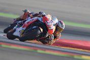 Start dari Urutan Ke-5, Marquez Juarai Balapan GP Aragon