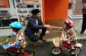 Resmikan Wajah Baru Taman Lalu Lintas, Ridwan Kamil Terharu