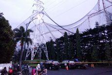 Hujan Badai di Bandung, Pagar Lapangan Golf Setinggi 25 Meter Ambruk