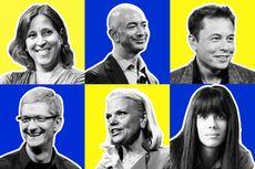20 Tokoh Paling Berpengaruh di Industri Teknologi Saat Ini