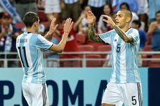 Bermain dengan 2 Bek, Argentina Kalahkan Singapura 6-0