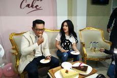 Ketika Syahrini Ajak Ridwan Kamil Tengok Dapur Princess Cake