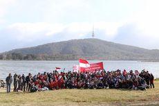 Air Mata Haru Warnai Pengibaran 'Merah Putih' di Canberra