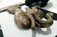 Museum Sri Baduga Dapat Kiriman Arca Berkepala Gajah dan Berbadan Ular