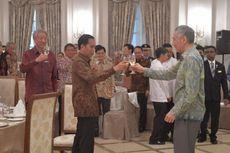Jokowi dan Lee Bersulang Rayakan