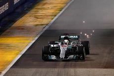 Lewis Hamilton Juarai Balapan GP Singapura