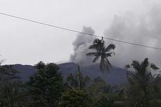 Gunung Agung Meletus, Asap dan Abu Membubung Setinggi 600 Meter