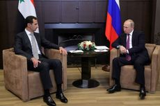 Didukung Rusia, Presiden Assad Berterima Kasih kepada Presiden Putin
