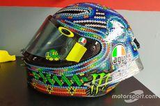 Helm Baru Rossi untuk Tes MotoGP di Sepang