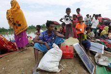 Kisah Etnis Rohingya Bawa Panel Surya Saat Lari ke Bangladesh