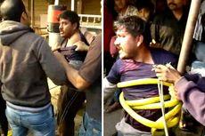 Aksi Menculik Bocah Terekam CCTV, 2 Pria Ditangkap dan Dikeroyok Warga