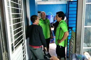 Pimpin Latihan Perdana, Mario Gomez Tinjau Mes Persib
