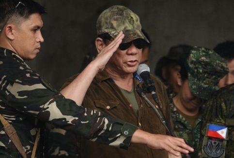 Duterte Deklarasikan Marawi Sudah Dibebaskan dari Teroris