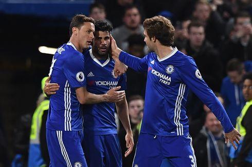 Hasil Liga Inggris, Costa Cetak Dua Gol saat Chelsea Menang 4-2