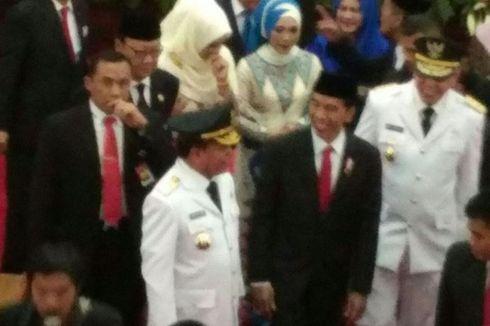 Transit Sebelum ke Turki, Jokowi Beri Selamat kepada Gubernur Aceh