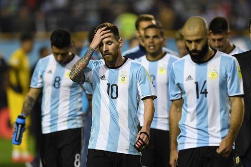 Kegagalan Argentina Bukan karena Dosa Messi Seorang