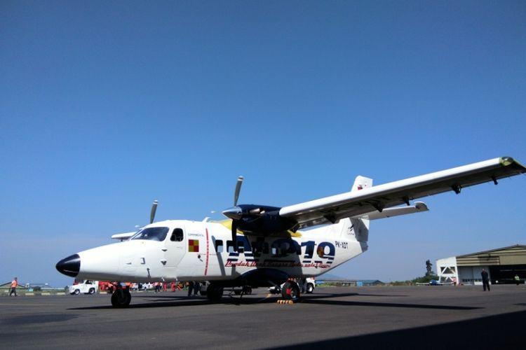 Pesawat N219 buatan PT Dirgantara Indonesia