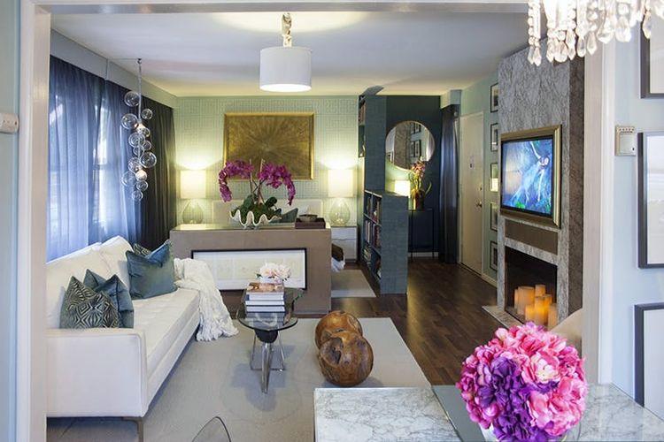 Apartemen studio milik Dominic.