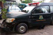 Menegangkannya Momen Napi Bawa Kabur Mobil Tahanan Kejari Depok