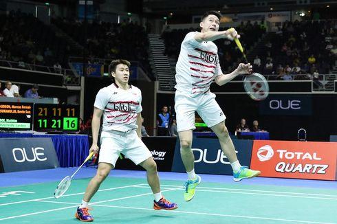 Cedera Punggung, Kevin/Marcus Absen di Kejuaraan Asia